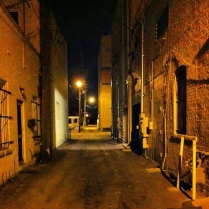 An Alley Downtown Sanford. One resident called it Rape Alley