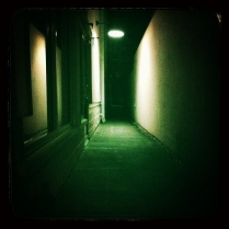 An Orlando Dark Alley Reminding Me of The Exorcist