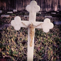 Cross at Cemetary in Sanford, Florida