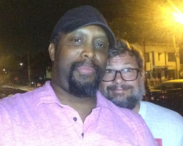 DJ Tommy Mot on right
