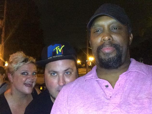 Karen, Andrew Spear and Me