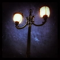 Lamp Post at Cranes Roost in Altamonte Springs Florida