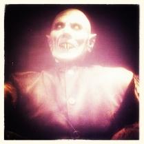 Nosferatu Statue at Peacock Room