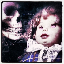 Skull and Doll