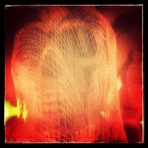Skull Inside Netting