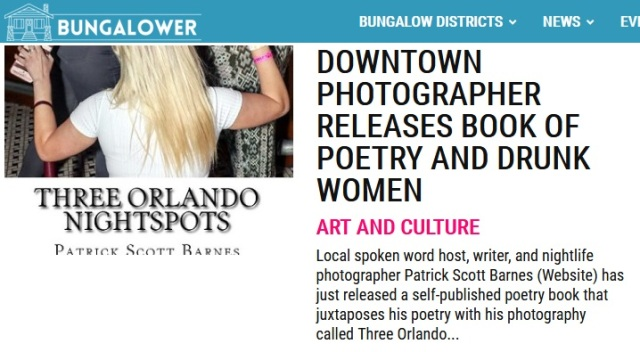Bungalower and Three Orlando Nightspots Pic