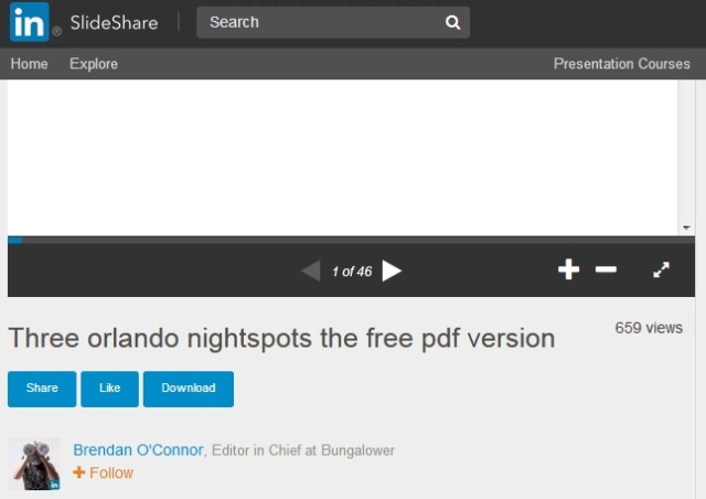 Bungalower's Brandon O'Conner and Three Orlando Nightspots Free PDF