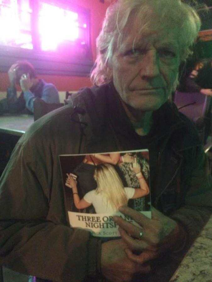Jim O'Rourke at Orlando's Hideaway Bar   Patrick Scott Barnes
