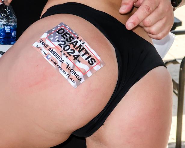 Black bikini at Sanford bikini contest.